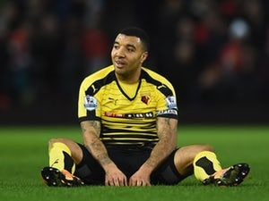Watford skipper Troy Deeney charged with violent conduct after Joe Allen clash