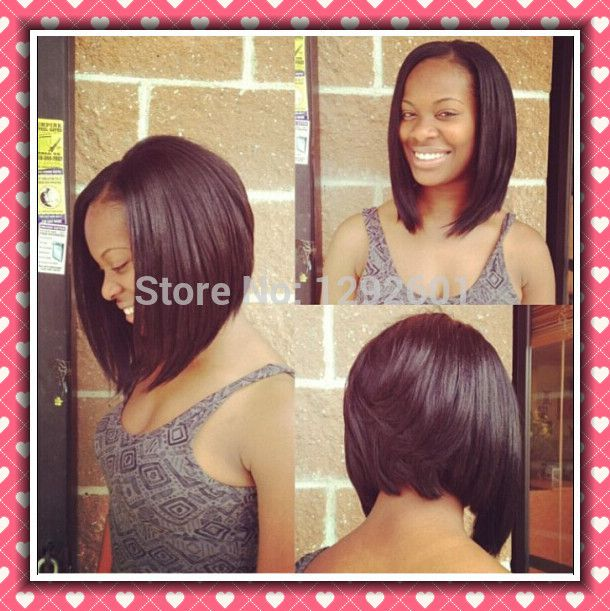 12 Angled Bob Lace Wig AliExpress 110 Hair Hair