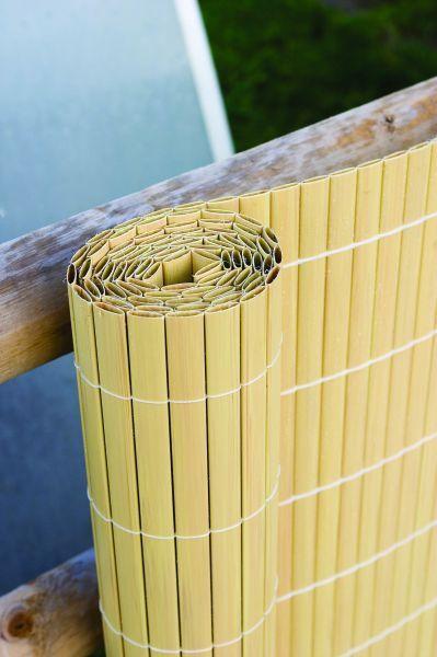 Cette canisse artificielle en bambou dissimule parfaitement les endroits disgracieux de votre extérieur tels que des clôtures abîmées par le temps et peut aussi tout à fait être utilisée pour protéger votre intimité au sein de votre jardin. Très solide, elle convient à tous