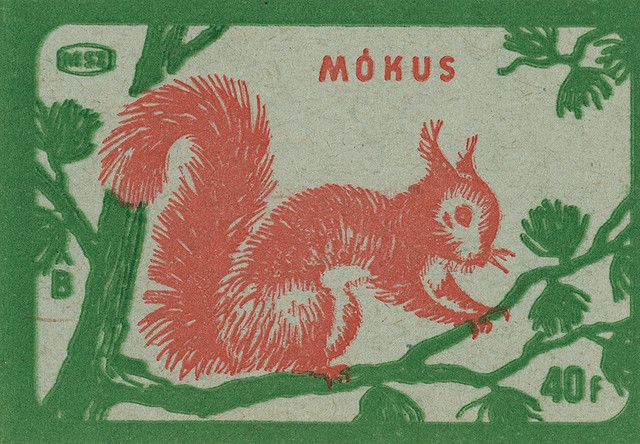 https://flic.kr/p/66n8YL | hungarian matchbox label