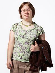 Sara Pickard, Community Councillor, actor, Project Officer at Mencap Cymru.