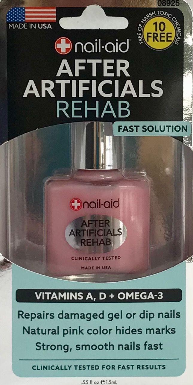 Nail Aid After Artificials Rehab Walmart Com Unwanted Hair Removal Hair Loss Shampoo Damaged Nails