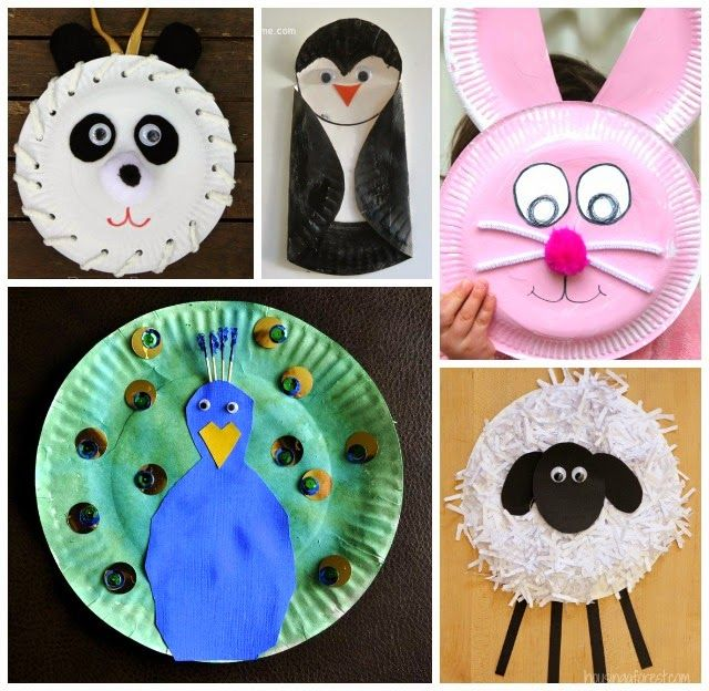 1000 Ideas About Paper Plate Animals On Pinterest Paper