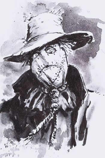 Scarecrow by Dave Wachter