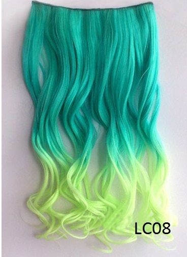 Dip Dyed Clip In - $39.99 : MissKellys Boutique peekaboo without the commitment!! ohh yah!!