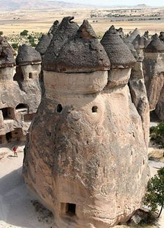 Göreme, a fabulous ancient city in Cappadocia Turkey. #travel fairtradecrate.com
