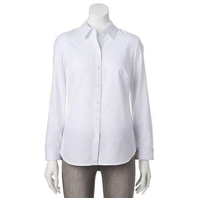 Croft Amp Barrow 174 Oxford Shirt Women S Idea Of Sewing