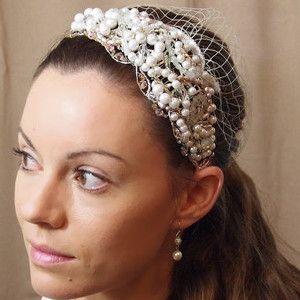 76 Best DIY Wedding Hair Accessories Images On Pinterest