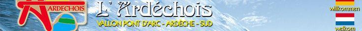 Camping l'Ardéchois à Vallon Pont d'Arc route des Gorges
