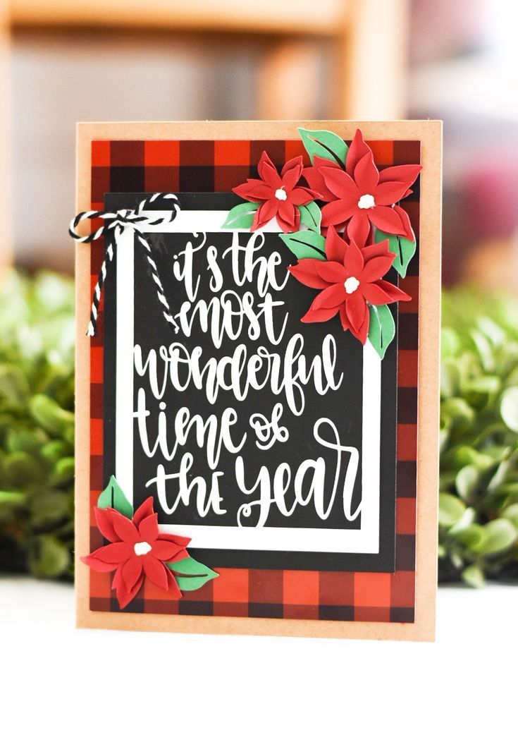 Make Handmade Christmas Cards – Cricut Maker