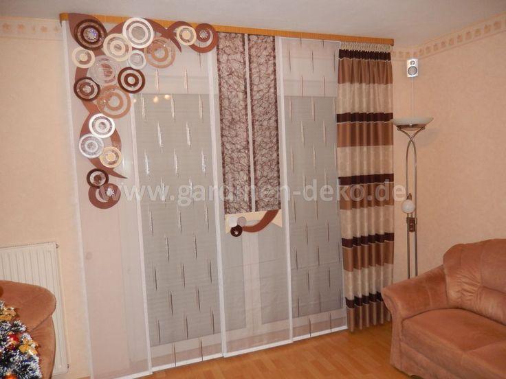 Design Gardinen Wohnzimmer ~ Kreative Bilder für zu Hause Design ...