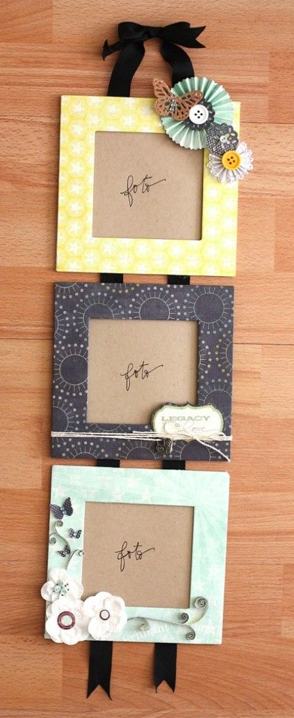 4055 best diy furniture ideas images on pinterest diy for Picture frame decorating ideas for kids