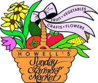 Howell Sunday's Farmers Market  May 6 - October 28
