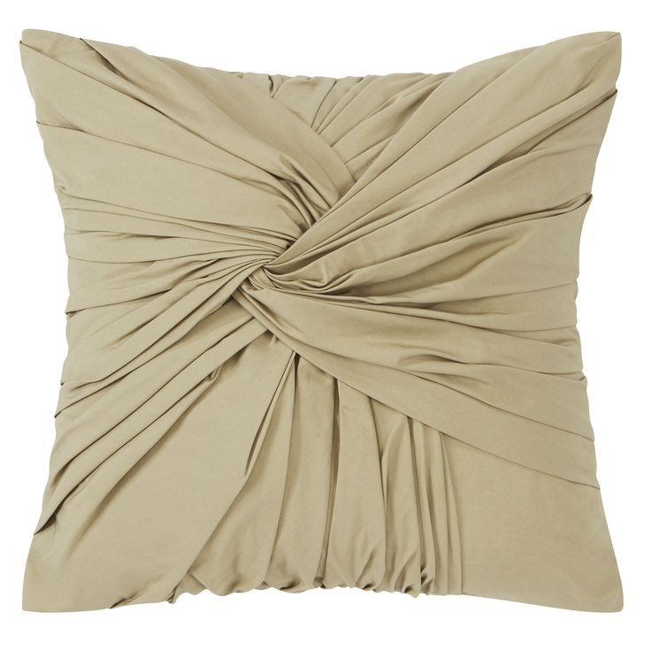 """Candice Olson 14"""" x 14""""  Textural Twist decorative pillow from the AURORA bedding collection at Dillard's.  #candiceolson"""