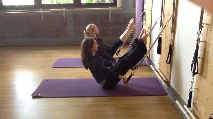 Pilates Springboard Teaser Variation