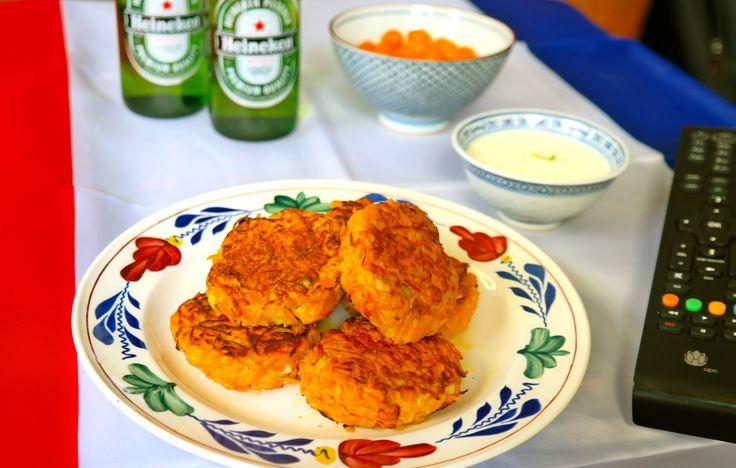 Carrot fritters/ wortel koekjes  -> www.keetenstijd.nl