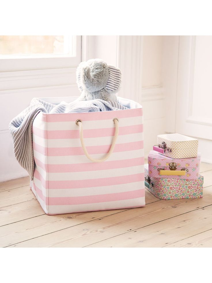 Canvas Storage Cube | JoJo Maman Bebe