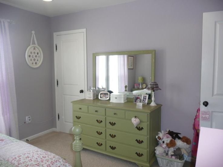 Girl S Rooms Sherwin Williams Veiled Violet Lavender