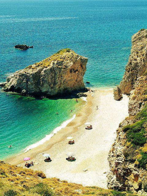 This is my Greece   Kaladi beach on Kythera island