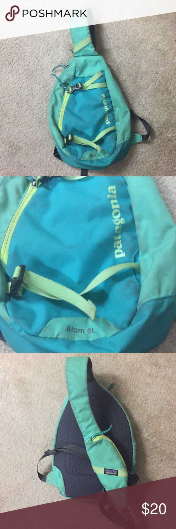 Patagonia Atom 8L Sling Definitely loved this bag as you can see the dirt stains. Still in great working condition. I just never use this anymore. Patagonia Bags Crossbody Bags