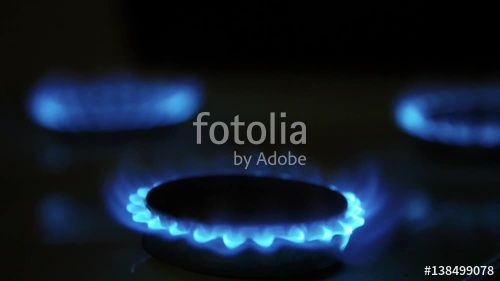 "Download the royalty-free video ""Cooktop with burning gas ring. Gas cooker with blue and yellow flames in dark."" created by sebos at the best price ever on Fotolia.com. Browse our cheap image bank online to find the perfect stock video clip for your marketing projects!"