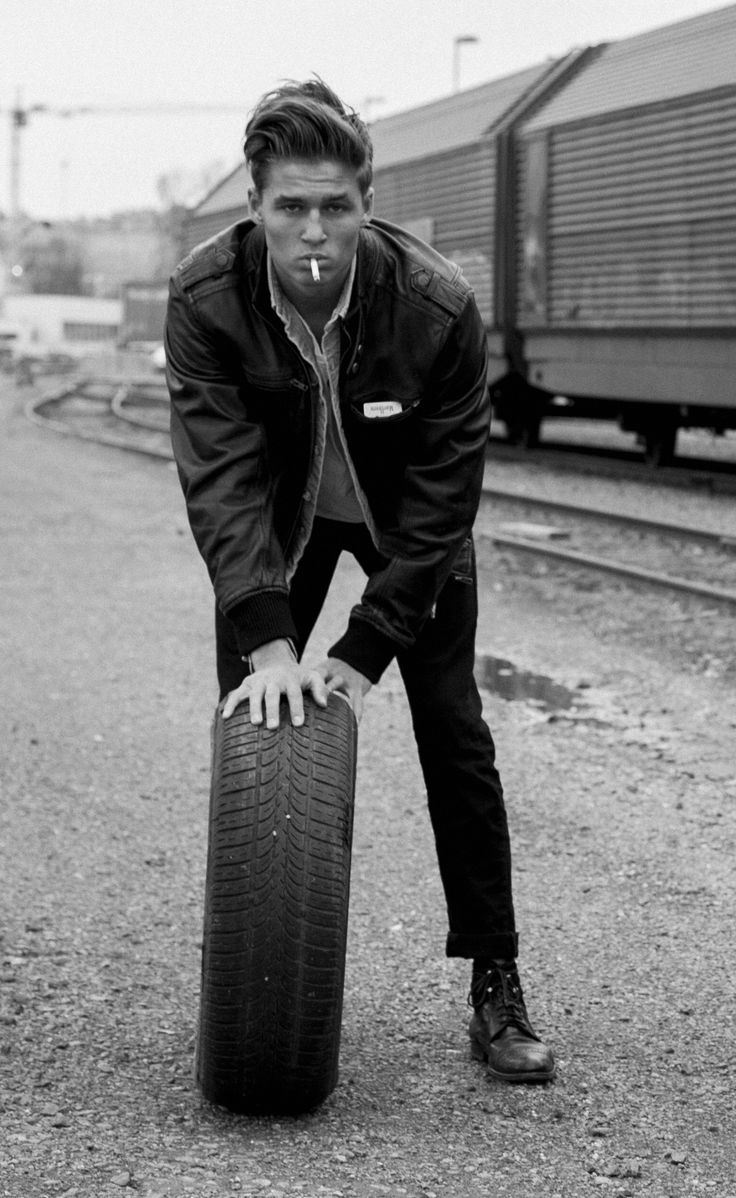 Lost boys Editorial by Alexander Thorsen   Tom Boy 50's james dean inspired