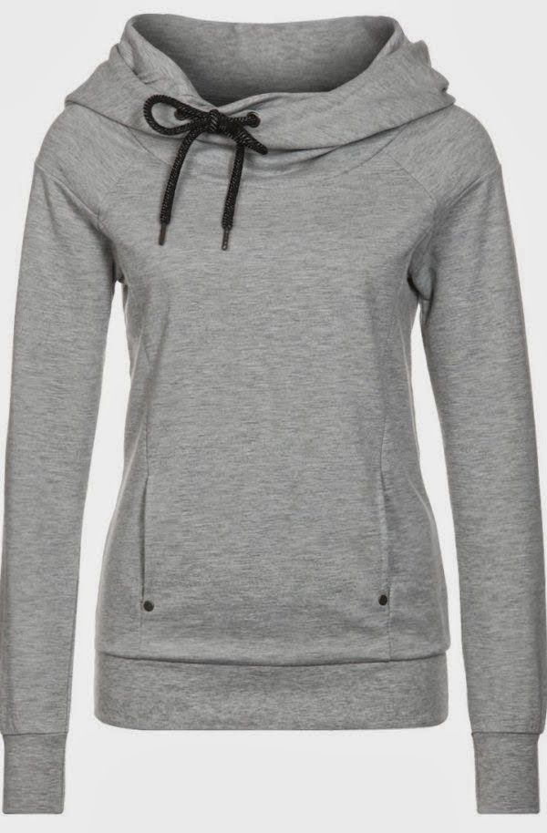 Grey Comfy And Cozy Hoodie