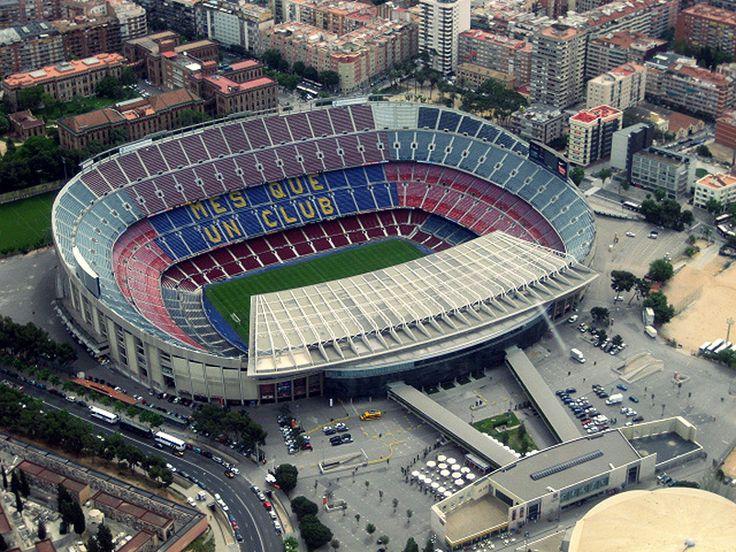 FC Barcelona Camp Nou Stadium Capacity: 99.354