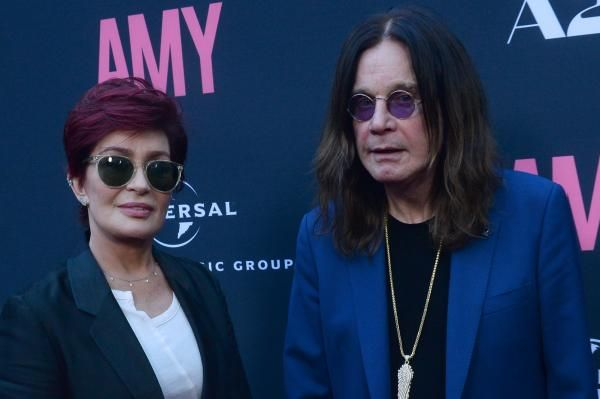 Sharon and Ozzy Osbourne celebrated their 35th wedding anniversary Tuesday by sharing throwback photos on Instagram.