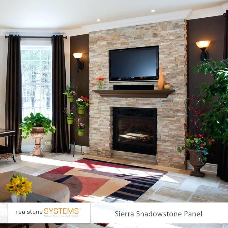 Stone Fireplace With Tv Full Size Of Living Room Design Living