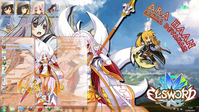 "Theme Windows Elsword ""Ara Haan"""