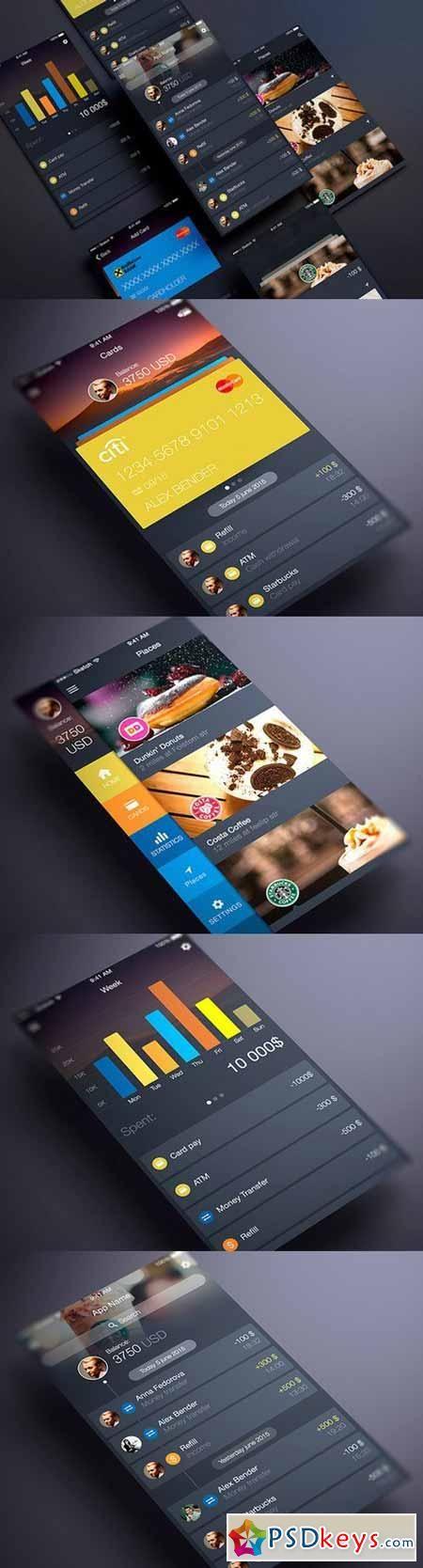 Finance App UI 297845