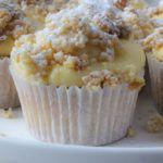 Pudding kruimelvlaai cupcakes - Vertruffelijk