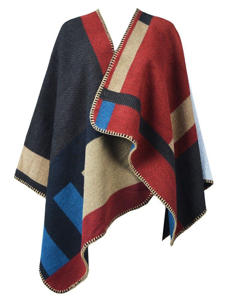 Poncho coat