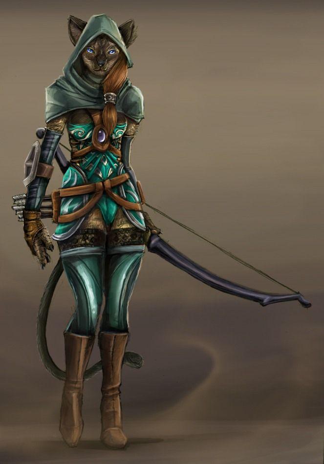 Catfolk Ranger