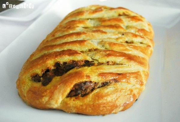 Empanada de calabaza, setas y mascarpone | L'Exquisit