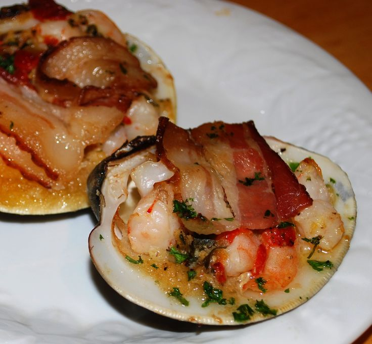 Clams casino soup