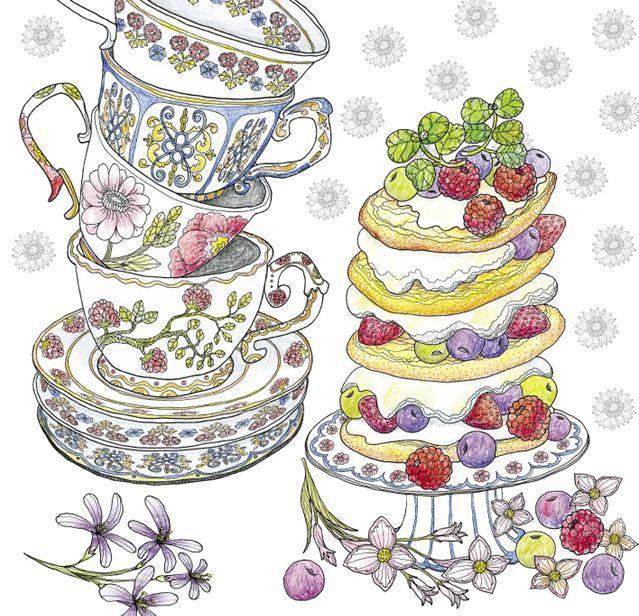 english tea painting - Cerca con Google