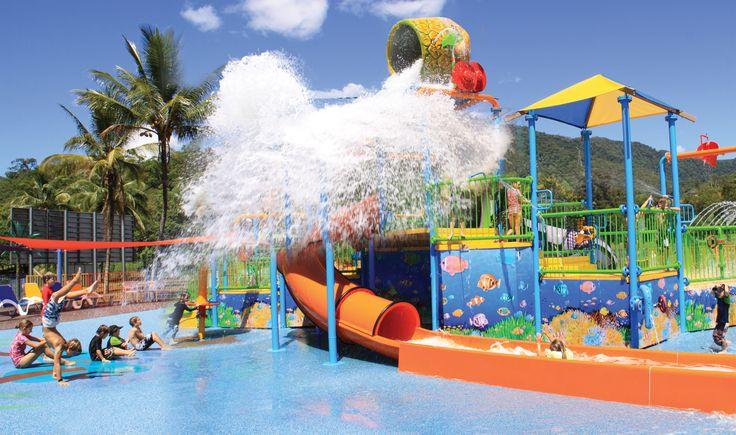 #splashpark at BIG4 Cairns Coconut Holiday Resort