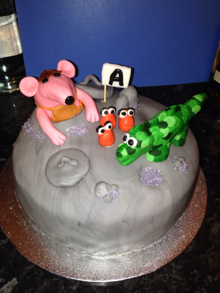 #Clangers #cake