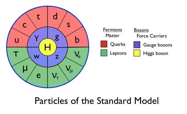Particles of the Standard Model | Infographics | Next generation science standards, Quantum