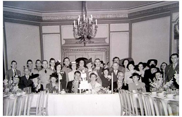 My good friends and neighbours, Mrs. Margot Schuller née Boivin and her daughter Madeleine Schuller and my husband, Angus McCharles and myself all had our wedding receptions at the Château Laurier.