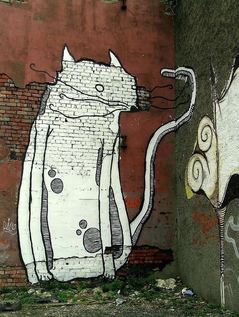 Giant Cat, Belfast #streetart