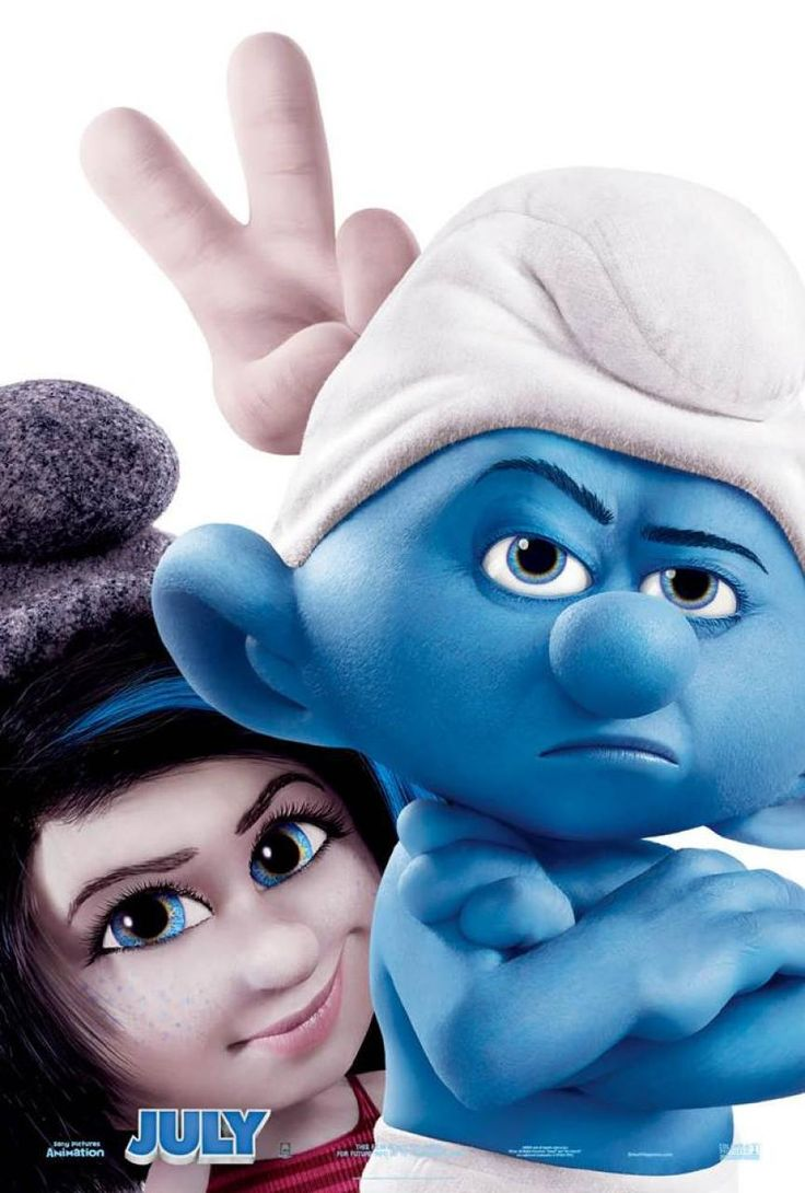 New THE SMURFS 2 Trailer: Come, My Naughties!