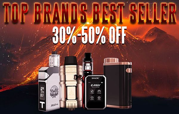 Vapor Joes - Daily Vaping Deals: FLASH: THE GEARBEST SALE STARTS NOW! 30-50% OFF!