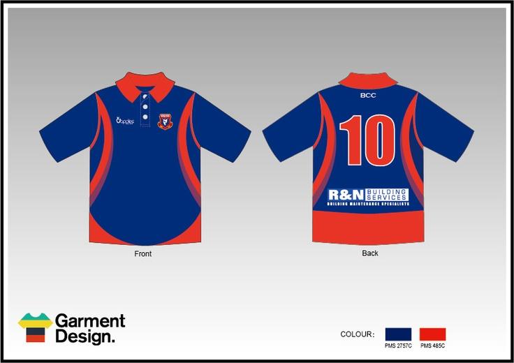 BCC ond day cricket design