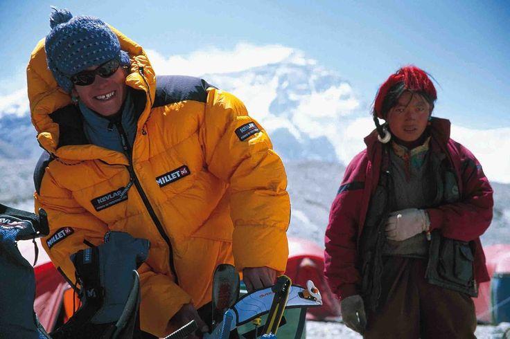 Marco Siffredi, première descente de l'Evrest ; le couloir Norton