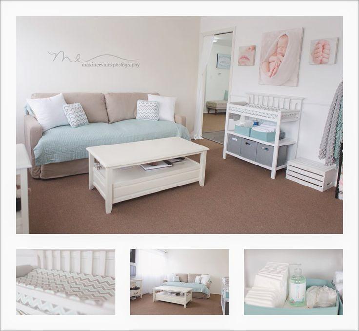 The Baby Room... Newborn Studio, Newborn Photography, Newborn Portrait Studio www.maxineevans.com