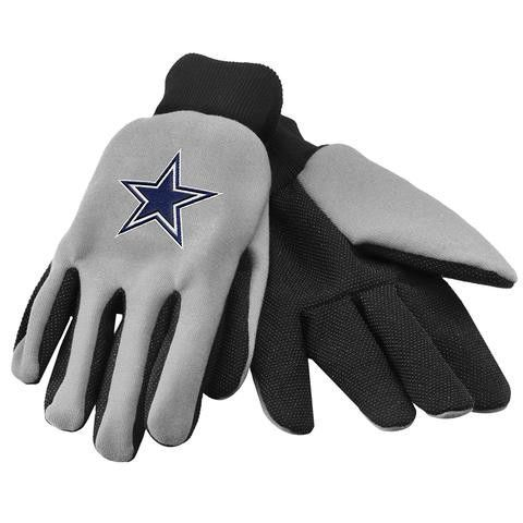 NFL Dallas Cowboys Utility Gloves-Gray