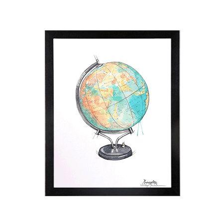 #globus #plakat #emmeselle